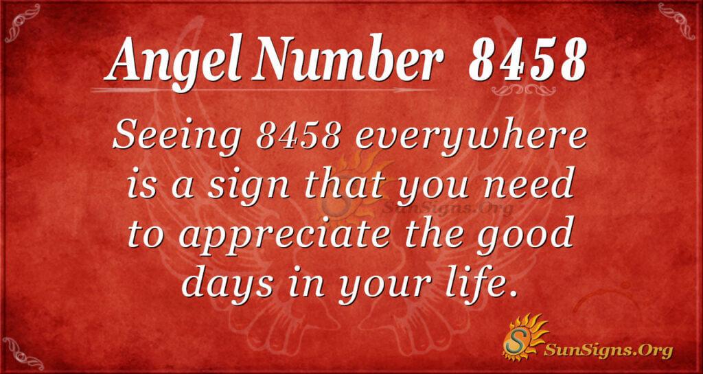 8458 angel number
