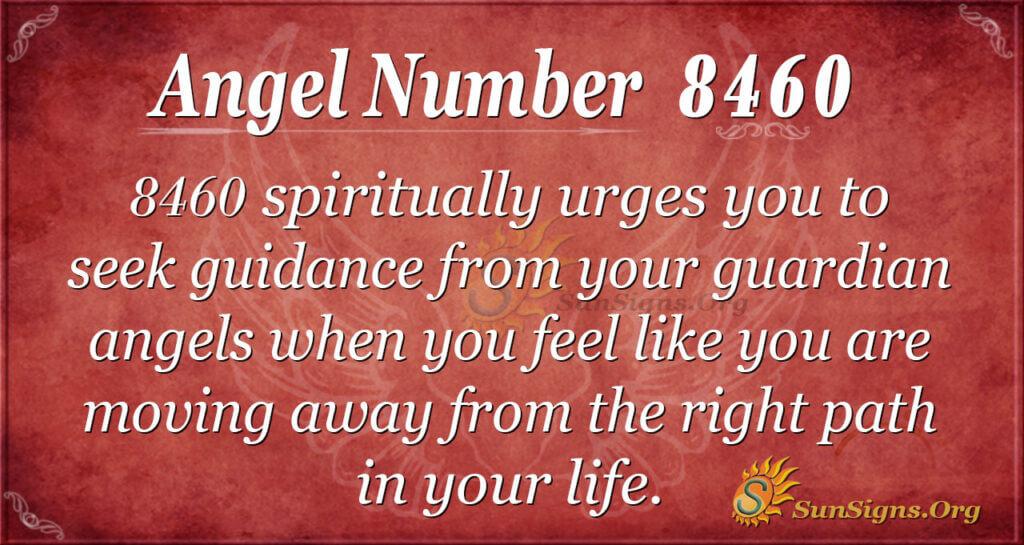 8460 angel number