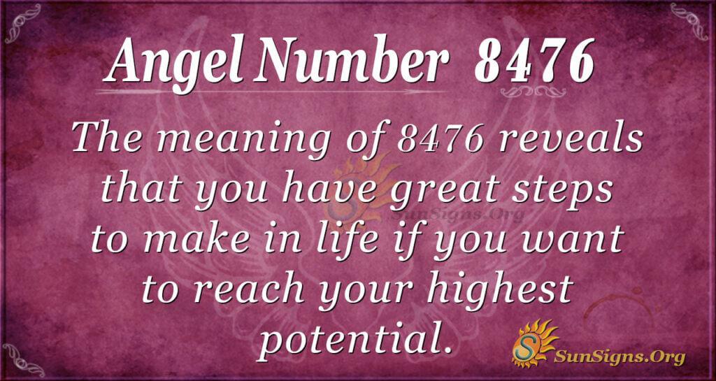 8476 angel number