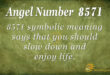 8571 angel number