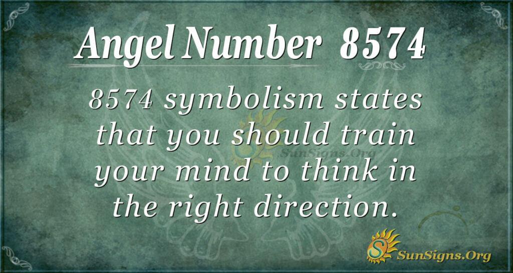 8574 angel number