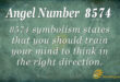 8574 angel number