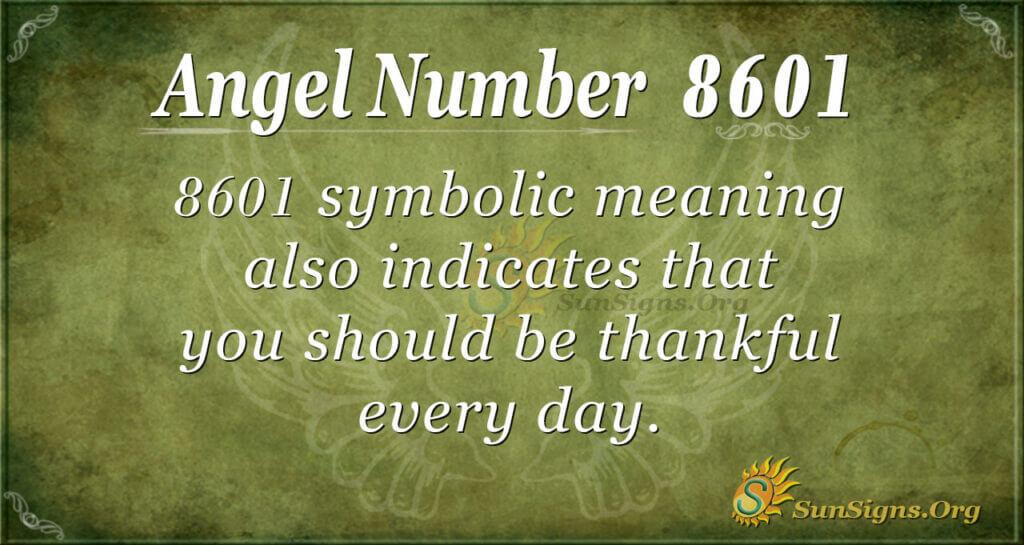 8601 angel number