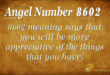 8602 angel number