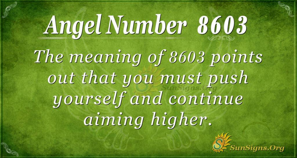 8603 angel number