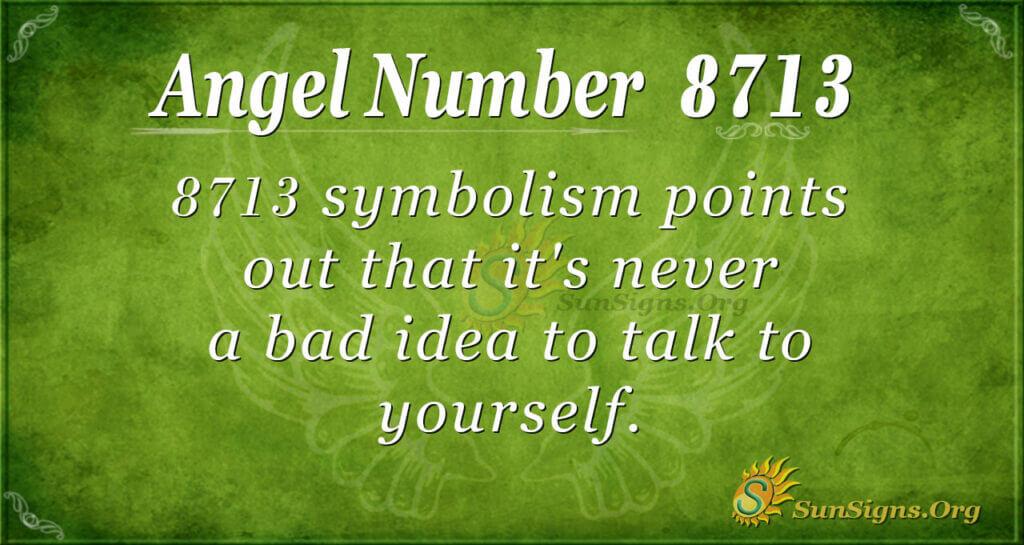 8713 angel number