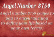 8750 angel number