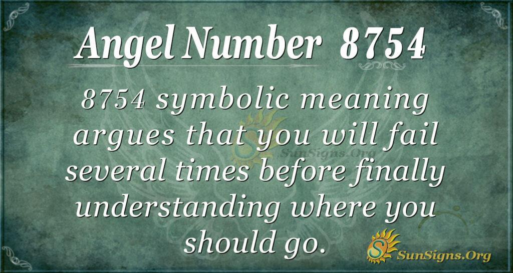 8754 angel number