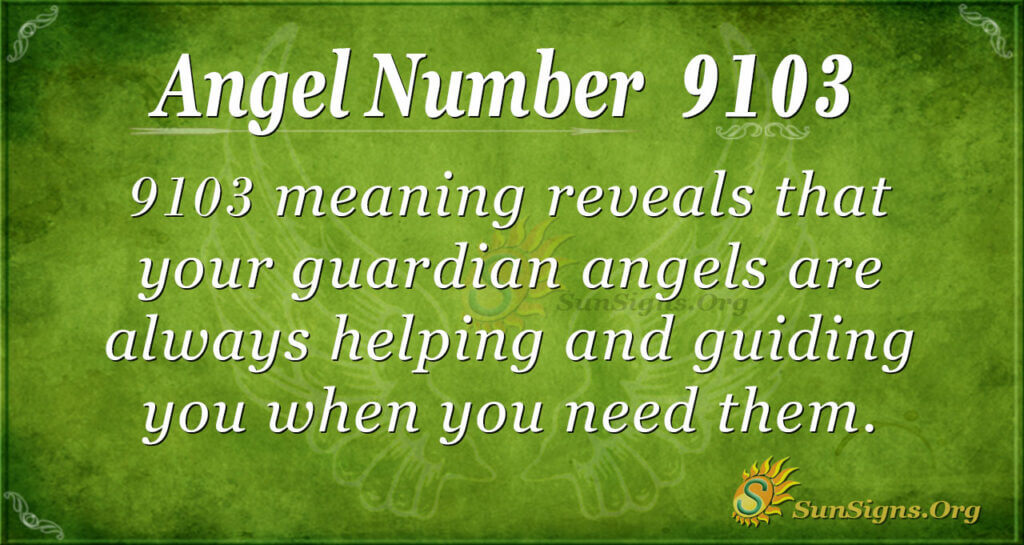 9103 angel number