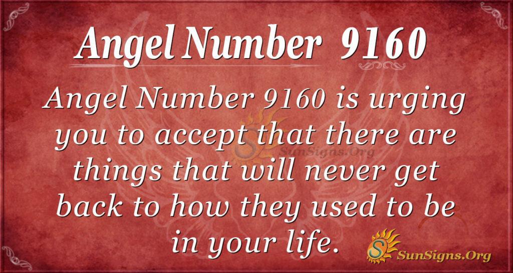 9160 angel number