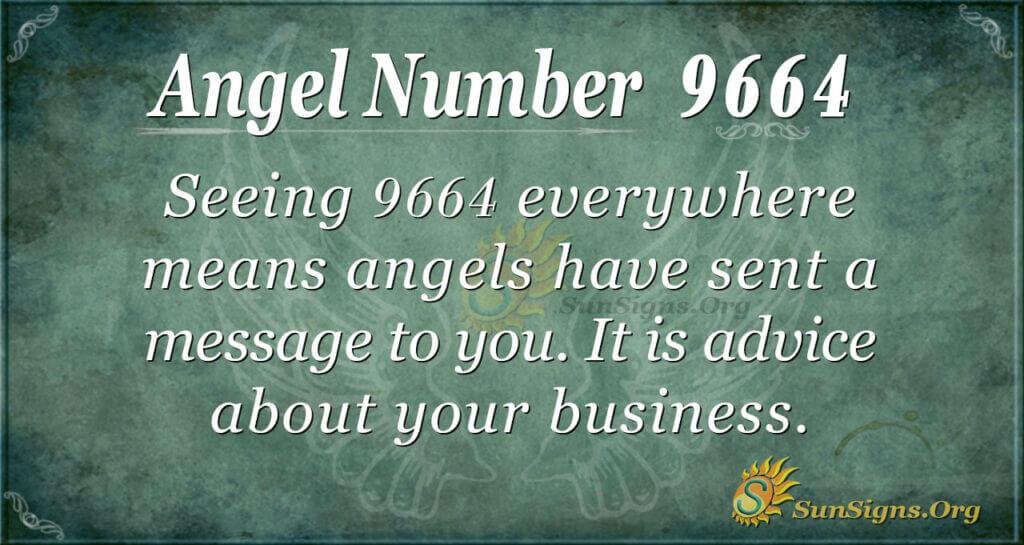 9664 angel number