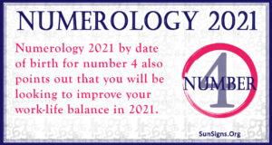 Number 4 2021