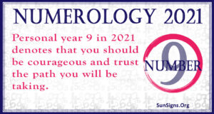 Numerology Number 9 2021