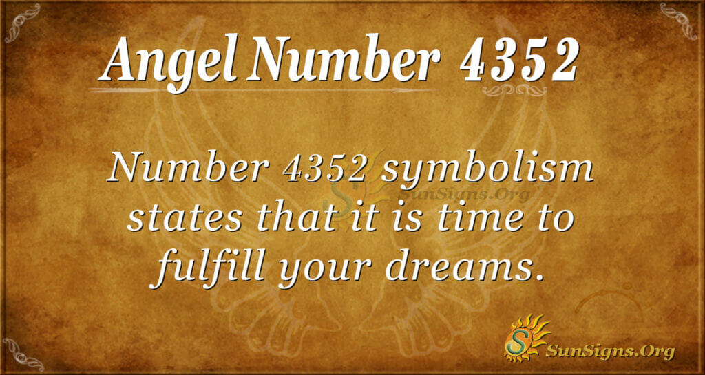 4352 angel number