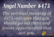 6475 angel number