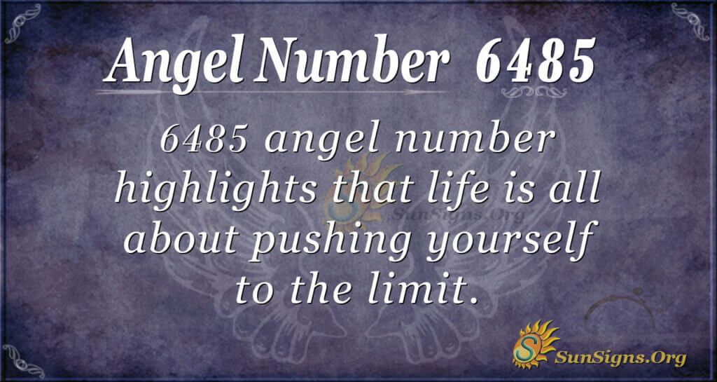 6485 angel number