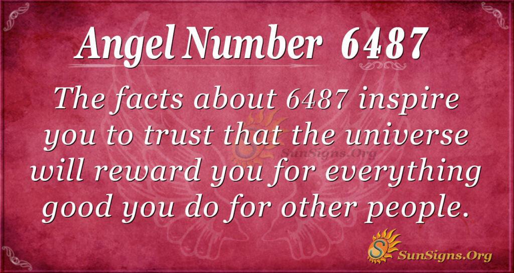 6487 angel number
