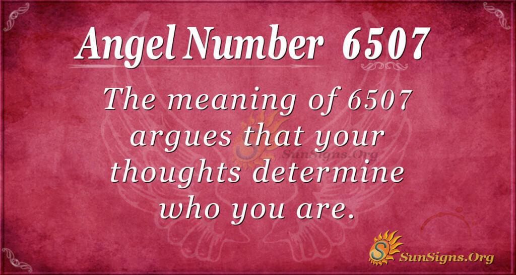 6507 angel number