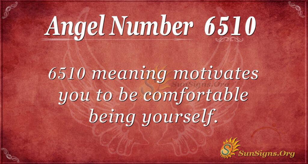 6510 angel number