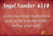 6510 angel number