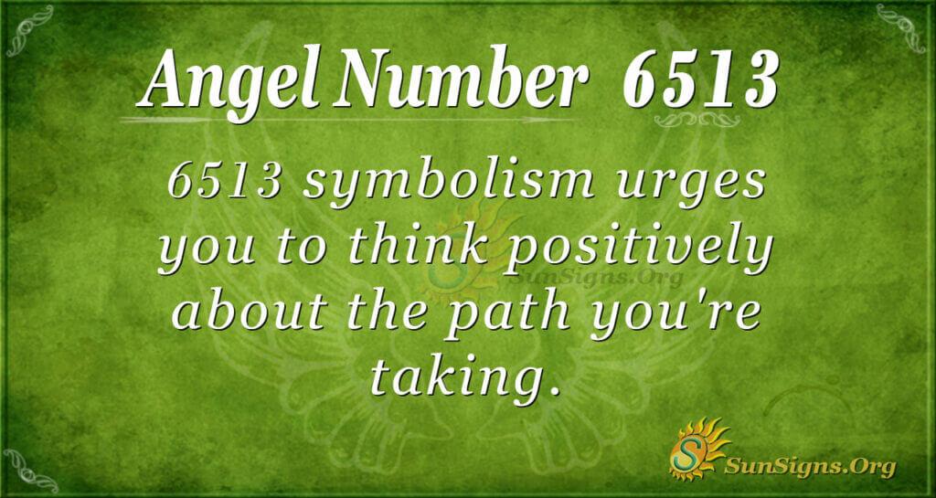 6513 angel number
