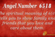 6518 angel number