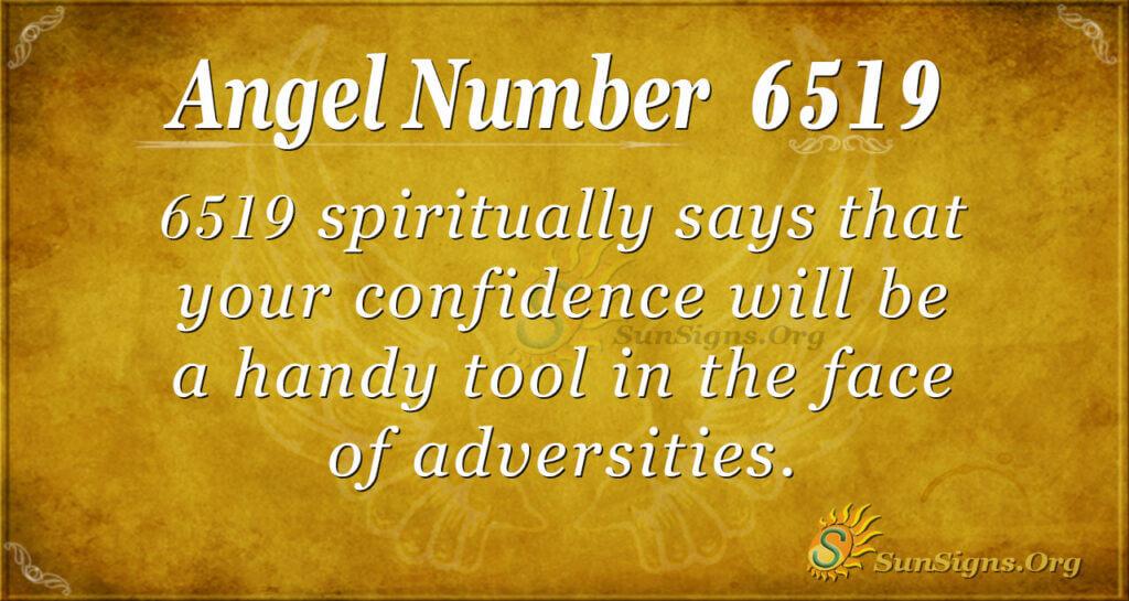 6519 angel number