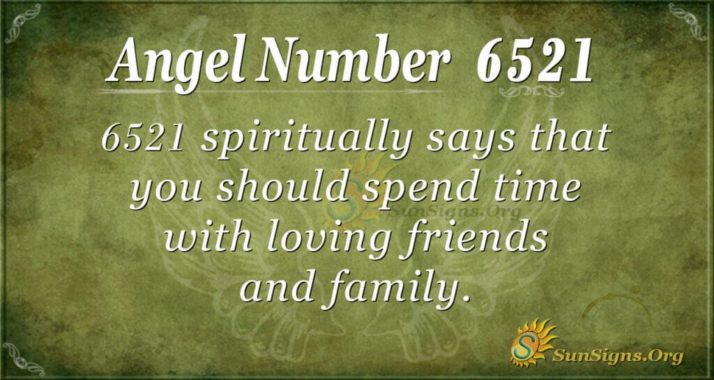 6521 angel number