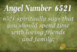 6521 angel number
