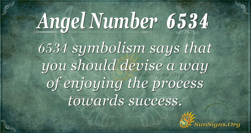 6534 angel number
