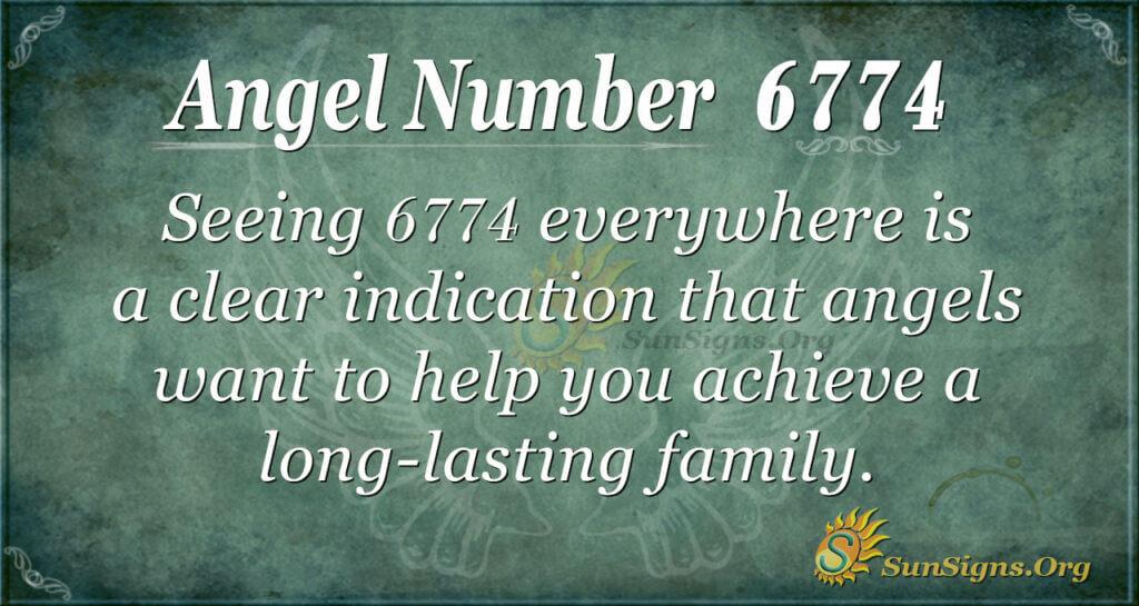 6774 angel number