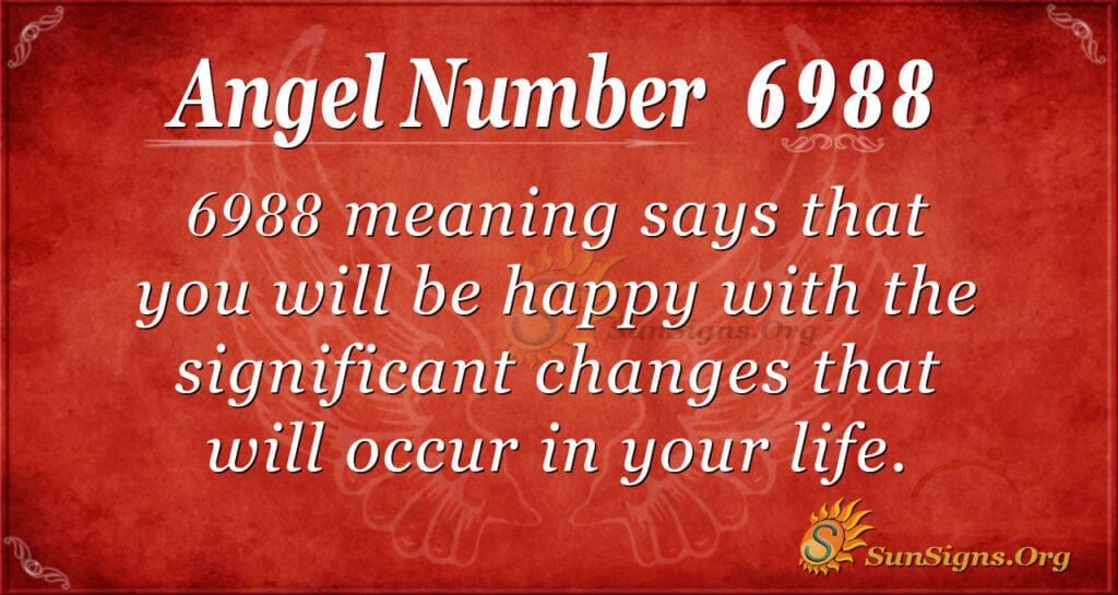 6988 angel number
