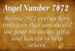 7072 angel number