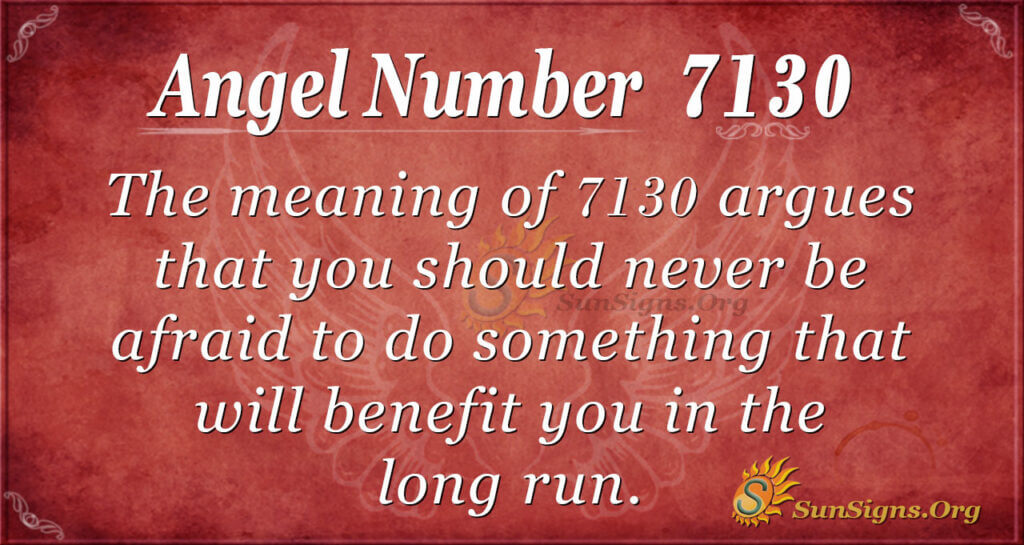 7130 angel number