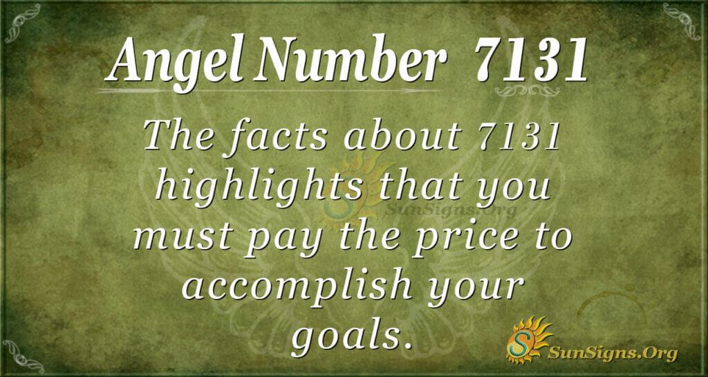 7131 angel number