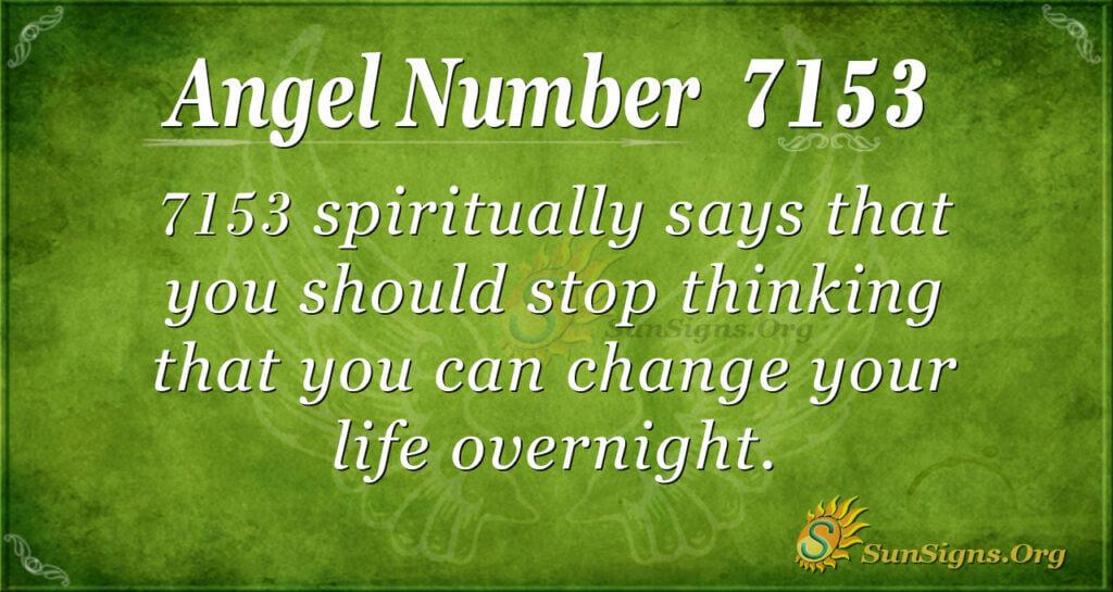 7153 angel number