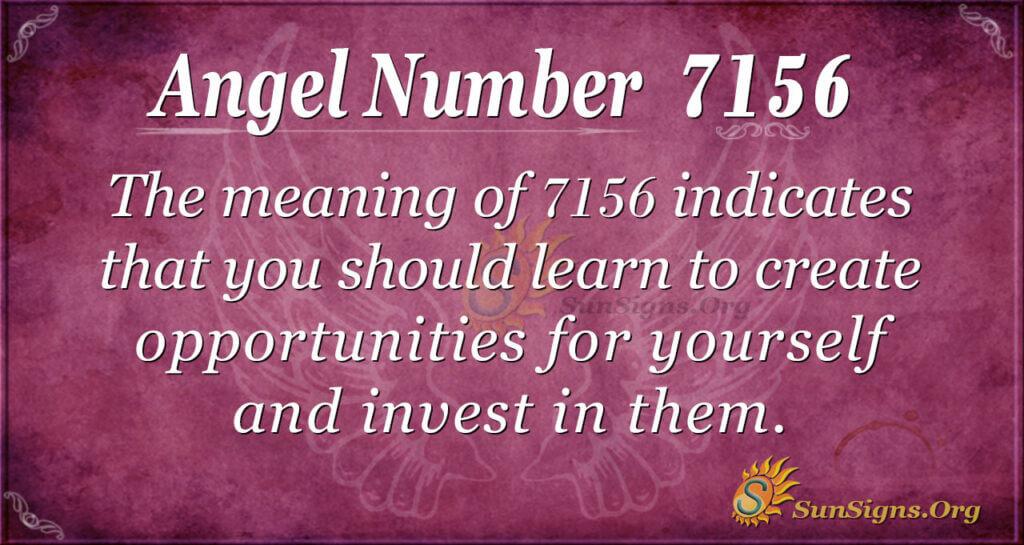 7156 angel number