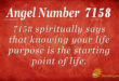 7158 angel number