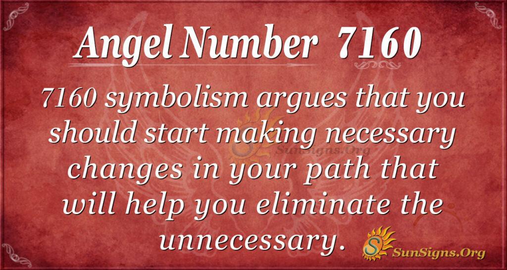 7160 angel number