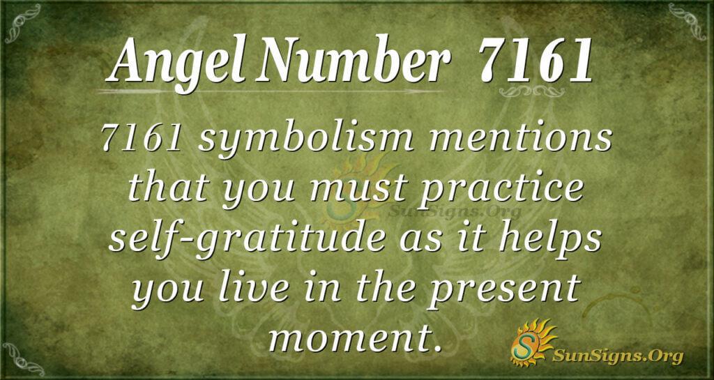 7161 angel number