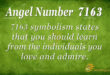7163 angel number