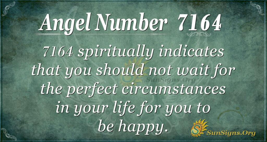 7164 angel number