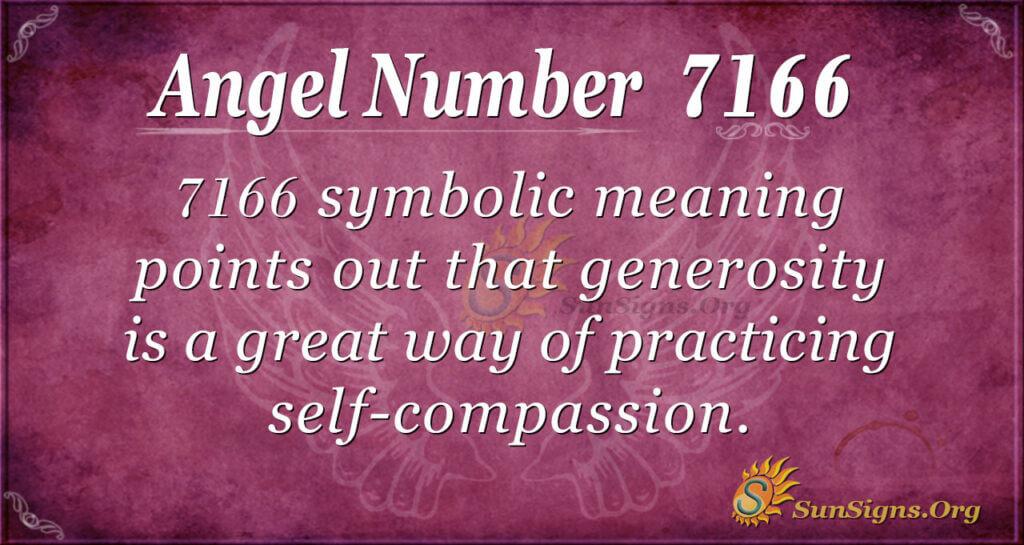 7166 angel number