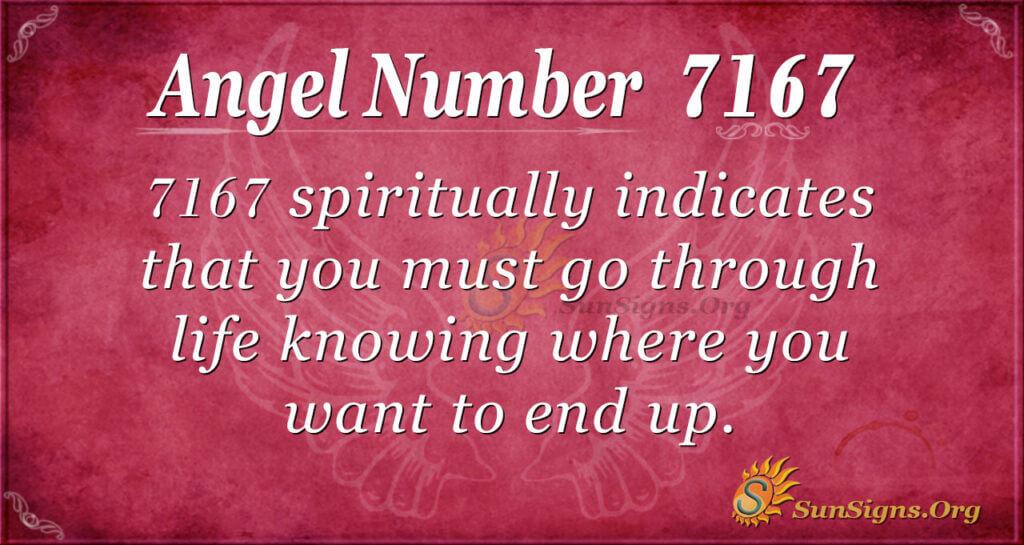 7167 angel number
