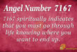 7167 angel number