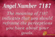 7187 angel number