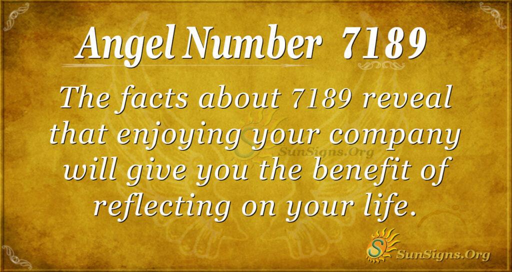 7189 angel number