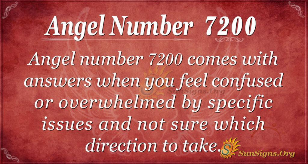 7200 angel number