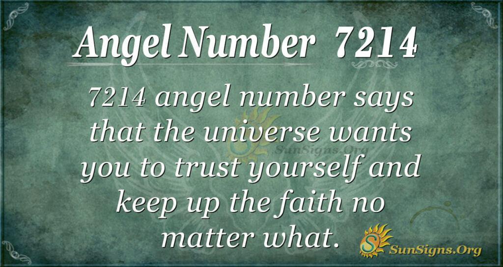 7214 angel number