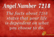 7218 angel number
